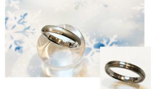 結婚指輪サイズ変更と新品仕上げ