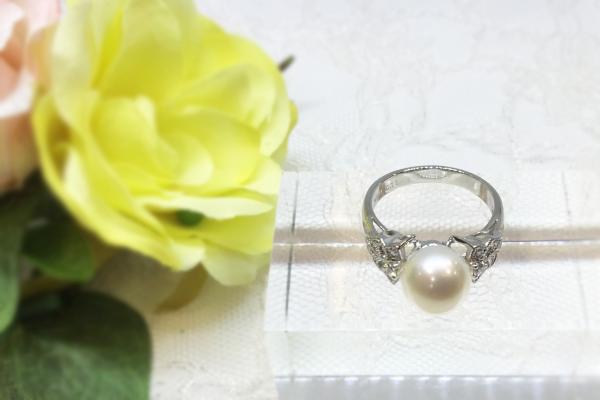 リフォーム後 真珠の指輪