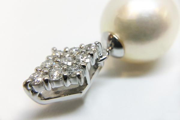 ジュエリーリフォーム 真珠の指輪をペンダントに