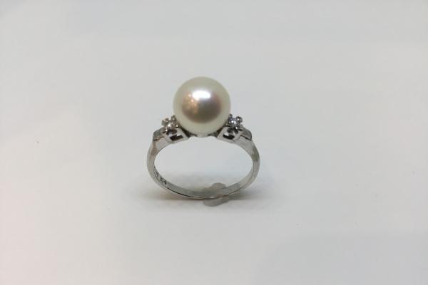 リフォーム前の真珠の指輪