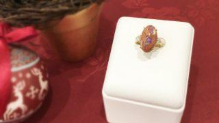 ジュエリーリフォーム オパールの指輪