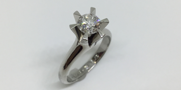 リフォーム前の婚約指輪