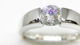 リフォームしたダイヤモンドリング