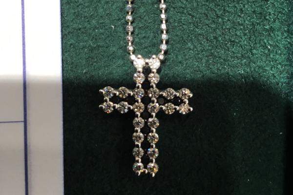 リフォーム前の十字架(クロス)ネックレス