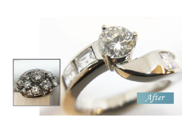 ダイヤモンドリングリフォーム