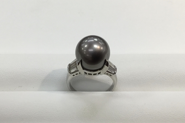 南洋黒真珠の指環