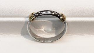 サイズ変更と新品仕上げを行った30年前のご結婚指輪