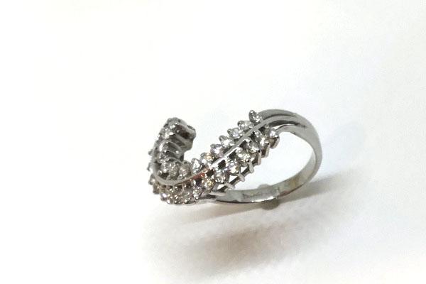 リフォームを考えているダイヤの指輪