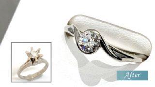 使いづらいダイヤモンドの指輪をリフォーム