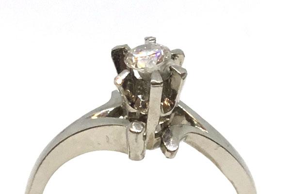 リフォーム前ダイヤモンドの指輪