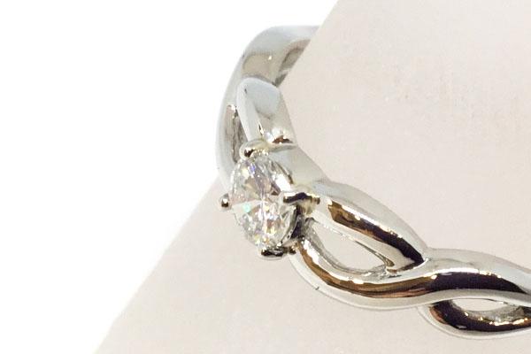 ダイヤモンド指輪 リフォーム