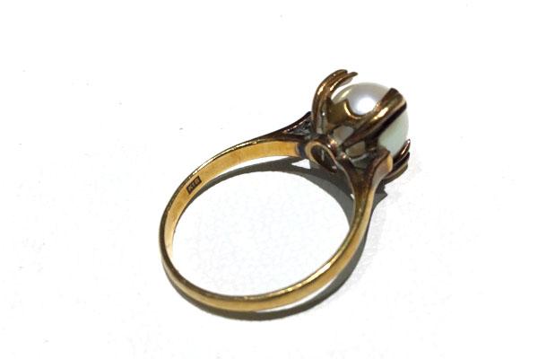 リフォーム前の真珠の指環
