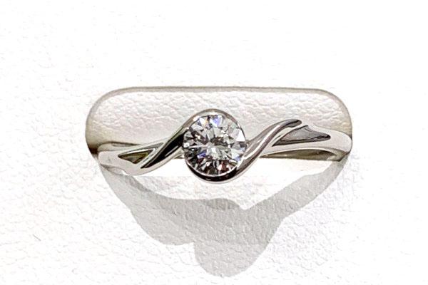 リフォーム後 普段使いできるオシャレなダイヤモンドリング