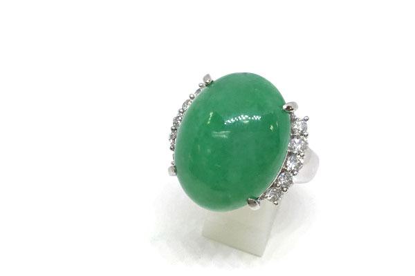翡翠の指環