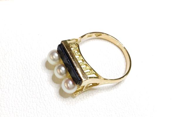 高さのある指輪