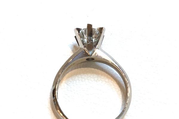リフォーム前 ダイヤモンド指輪