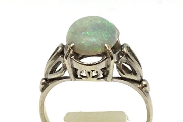 リフォーム前 オパールの指環