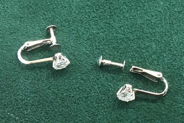 リメイク前 ダイヤモンドのイヤリング