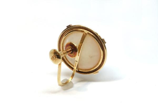 マベパールのイヤリング