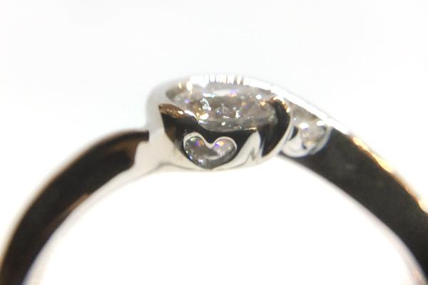 リフォーム後のダイヤモンド指輪