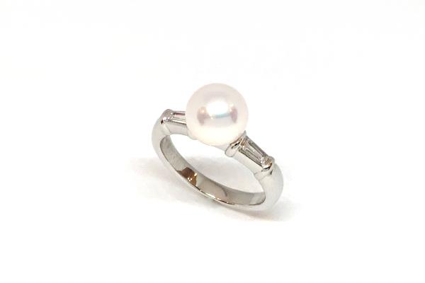 真珠の指輪 サイズ直し サイズアップ真珠の指輪
