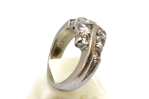 リメイク前のダイヤモンドリング