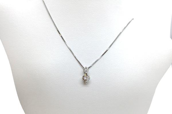 ジュエリーリフォームダイヤモンドネックレス