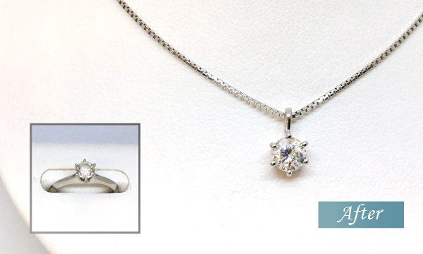 ダイヤモンド婚約指輪のリメイク・リフォーム