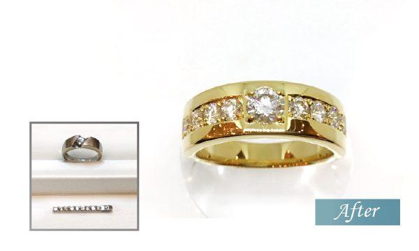 ダイヤモンドのリフォーム