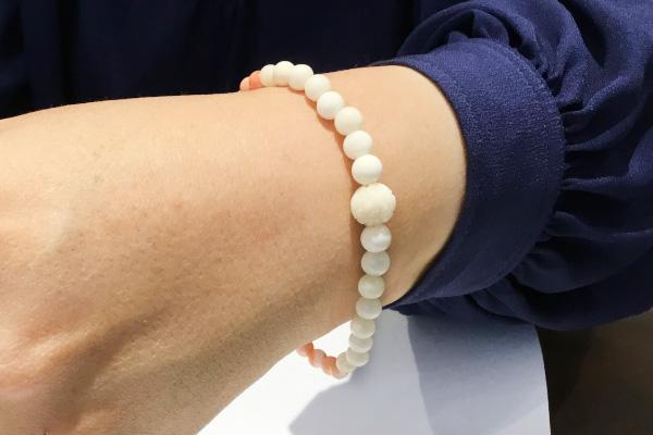白珊瑚ブレスレット