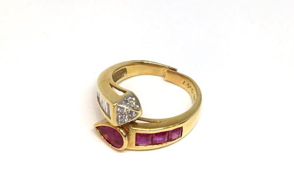 切れた指輪