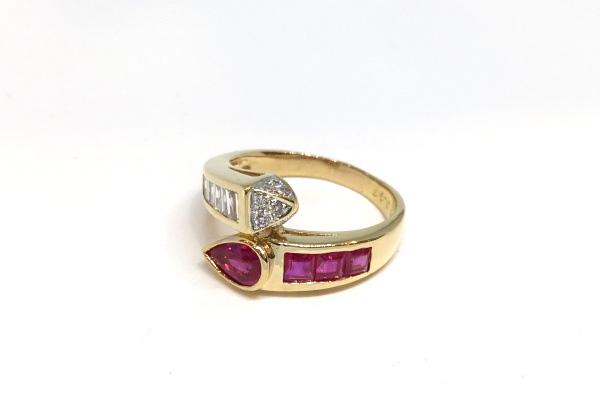 修理後の指環